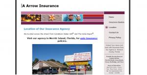 A-Arrow Insurance Website