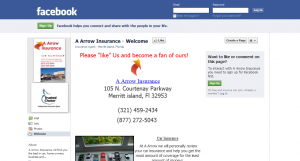 A-Arrow Insurance Facebook Page