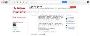 A-Arrow Insurance Google Plus Profile