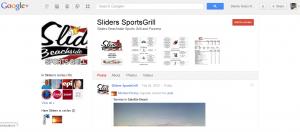 Sliders Beachside Sports Grill & Pizzeria Google Plus Profile